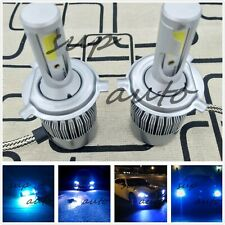 2x CREE H4 HB2 9003 55W 8000LM LED Headlight Kit Hi/Lo Power Bulb 8000k ice blue