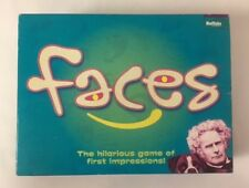 Faces Hilarious First Impressions Board Game Buffalo Games COMPLETE 079346001705