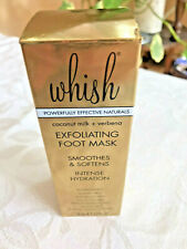 WHISH Exfoliating Foot Mask - Full Size 2.5 oz. - New in Box - FabFitFun