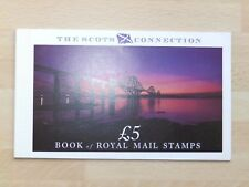 DX10 1989 £5 THE SCOTS CONNECTION BOOKLET