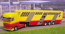 "DAF 95 Super Space Cab  gelb/rot  "" Promotiontruck ""   Albedo Nr : 200365"