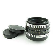 Para m42 Carl Zeiss Jena cebra pancolar 1.8/50 objetivamente/lens