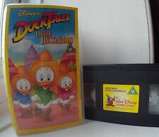 Ducktales Little Duckaroos - Disney Duck Tales VHS Video
