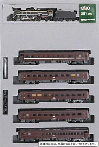 Kato 10-1499 Steam Locomotive Type D51-200 & Series 35 Yamaguchi 6 Cars N scale
