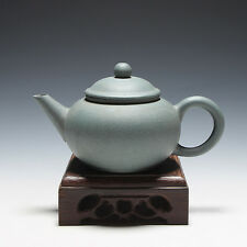 5000friend-Yixing Old 1st Zisha Factory Unused Small 120cc ShuiPing Teapot,1970'