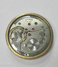 Reloj Vintage CYMA R.484 17 JEWELS Original SWISS movimiento funciona CYMAFLEX