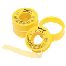 2x Bromic Yellow Tape 12mmx10m Suitable For Natural Gas & Lpg *Australian Brand