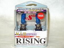 3950K 9005 Rising Automotive Super White 65W= 110W Halogen Light Bulbs Twin Pack