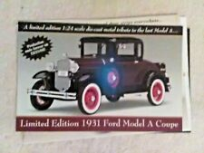 """Danbury MINT 1931 Ford  Model A  Coupe  """"FLYER"""""""