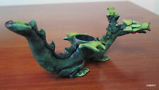 Collectible Two Headed DragonTobacco Pipe Handmade and Painted Smoking
