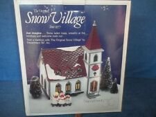 Dept.56  Snow Village  SHADY OAK CHURCH KIT    NIB  More Dept 56 Listed