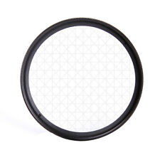 Universal 49mm 6PT 6 Cross Star Effect Lens Filter Four Point Line F DSLR Camera