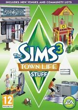 The Sims 3: Town Life Stuff - PC MAC - expansion pack - fast free post h