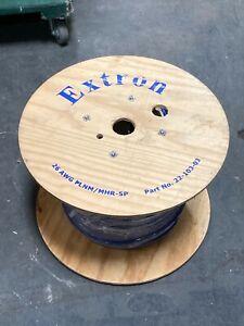 Extron MHR-5P Plenum Mini High Resolution Cable - 1000' Spool P/N 22-103-03 Reel