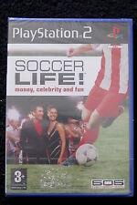 PS2 : SOCCER LIFE ! - Nuovo, sigillato, ITA ! Diventa una stella del calcio !