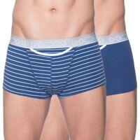 HOM HO1 BOXER BRIEFS 2-PACK POP BLUE Men's Trunks boxer shorts underwear