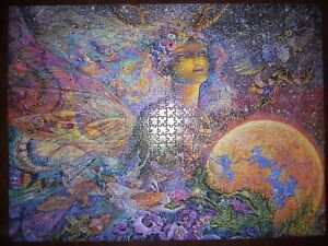 """Jigsaw Puzzle 1000 Pieces Glitter Edition """"Titania"""" by Josephine Wall 14+"""