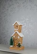 Fete DEL village Tall Maison Noël Scène Décoration
