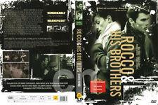 Rocco & His Brothers, Rocco e i suoi fratelli (1960) - Luchino Visconti  DVD NEW