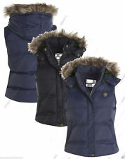 Waist Length Button Gilet Casual Coats & Jackets for Women