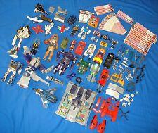 BIG Lot of Transformers Gobots Bandai Takara 1980's Toys