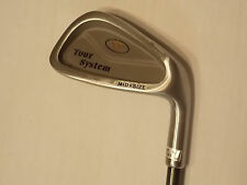 Tour System Mid-size 6 Iron with Warrior Graphite Shaft and Lampkin Grip.