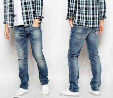 Lee Coloured Mid Rise Classic Fit, Straight Jeans for Men