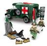 Sembo Building Blocks Krieg Krankenwagen Armee Figur Toys Model Gifts Kid 368pcs