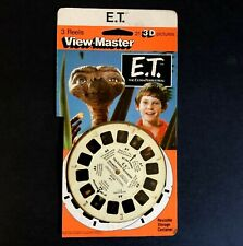 Vintage Viewmaster ET ( E.T. ) The Extra-Terrestrial 3 Reels plus  Card 1982