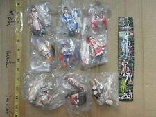 Bandai DOA Dead or Alive ultimate figure gashapon 9 pcs Kasumi Ayane Lei Fang