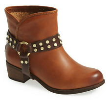 NEW UGG Australia Darling Studs Whiskey Leather Harness Ankle Boots US 6/37 $199