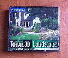 Broderbund Total 3D Landscape Deluxe 3.0 (5 Disc) 95/98/