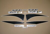 GSX-F 600 2000 full replacement decal set stickers graphics gsx600f restoration