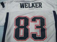 Wes Welker Reebok Players Jersey #83 New England Patriots NFL Youth Large