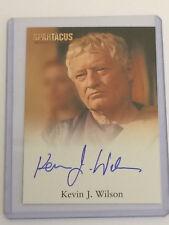 "Spartacus Vengeance - Kevin J Wilson ""Senator Albinius"" Auto / Autograph Card"