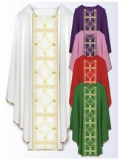 Clergy Vestments Embroidered Chasuble Pastor/Priest GREEN