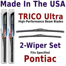 Buy American: TRICO Ultra 2-Wiper Blade Set fits listed Pontiac: 13-21-18