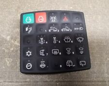 John Deere OEM 25 button switch panel for motor grader part# AT445227