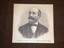 Compositore e Maestro Antonio Cagnoni di Godiasco