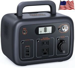 💥300Wh AC Outlet Portable Solar Power Bank Battery Generator USB Laptop CPAP