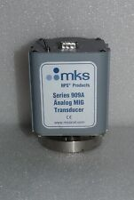 "MKS HPS 909A-21 ANALOG MIG TRANSDUCER STAINLESS STEEL CONFLAT CF 2.75"" 909A BAD"
