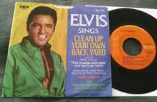 Elvis Presley - Clean Up.../The Trouble... 45 w/sleeve (47-9747) Strong VG