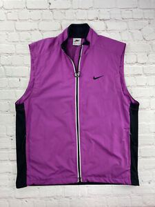 Vintage Nike 3m Running Vest Safety PINK Nike Mesh Vest 90s - Size large