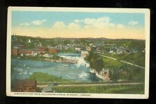 Winooski, Vermont, View from Colchester Avenue (WinooskiVT1) 1915-30 unposted