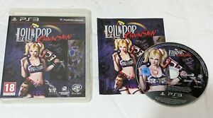 Lollipop Chainsaw UK PAL Sony PlayStation 3 PS3 Anime Ecchi  A RARE Inc Manual