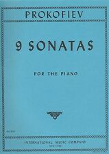 Nine Sonatas (Authentic Edition) Complete by Sergei Prokofiev.