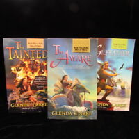 Lot 3 Isles Of Glory Trilogy The Aware Gilfeather Tainted Glenda Larke Fantasy