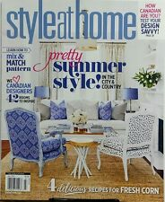 Style At Home July 2017 Pretty Summer Style In City & Country FREE SHIPPING sb