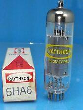 Raytheon 6Ha6 6Hb6 Vacuum Tube Power Pentode Similar Ratings As 6Bq5 Dif Pin