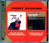 SEALED NEW CD Jimmy Rushing - The Jazz Odyssey + Jimmy Rushing & The Smith Girls